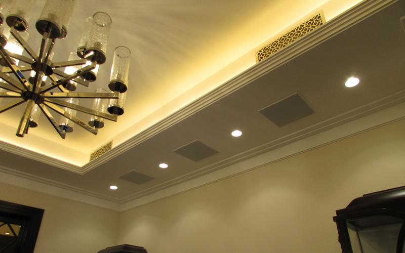 Потолочные акустические системы B&W