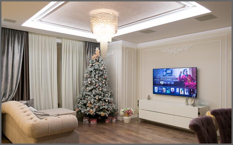 Домашний кинотеатр с OLED-телевизором 4K