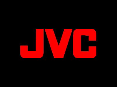 Логотип JVC - премиальные проекторы для кинозала