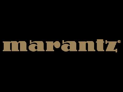 Логотип Marantz - электроника для домашнего кинотеатра
