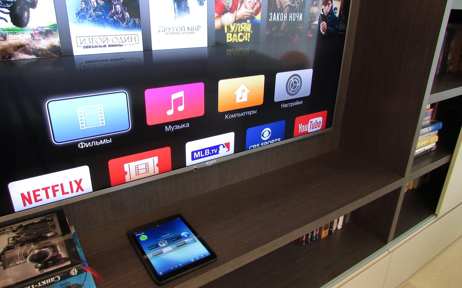 Телевизор Sony с диагональю 55 дюймов