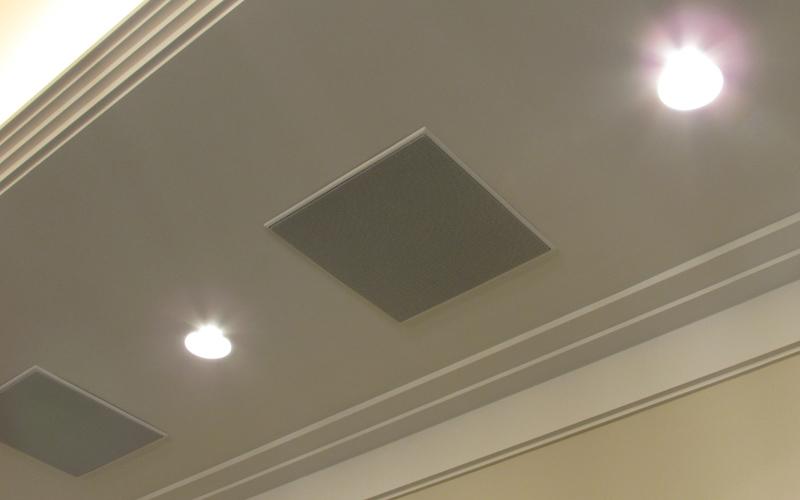 Центральная акустическая система домашнего кинотеатра