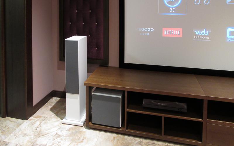 Все акустические системы домашнего кинотеатра от компании B&W