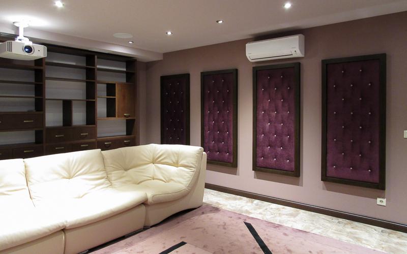 Настенные акустические панели для домашнего кинотеатра
