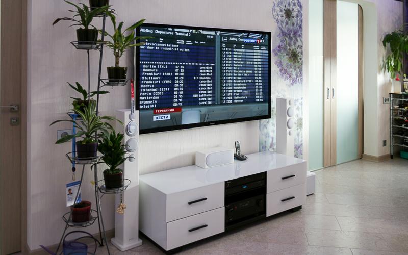 Домашний кинотеатр Monitor Audio и Pioneer