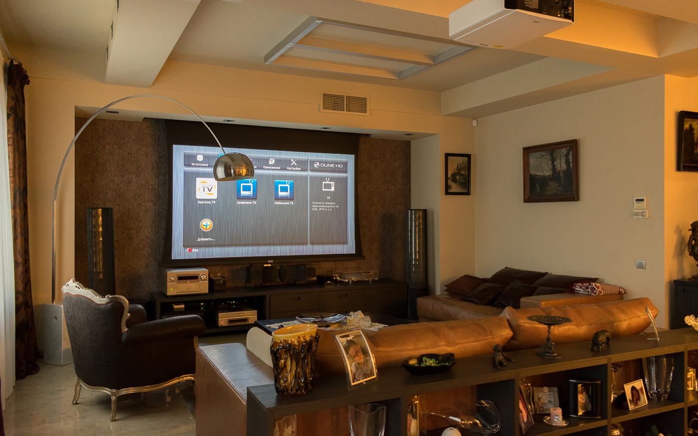 Домашний кинотеатр с проектором JVC DLA-X5900