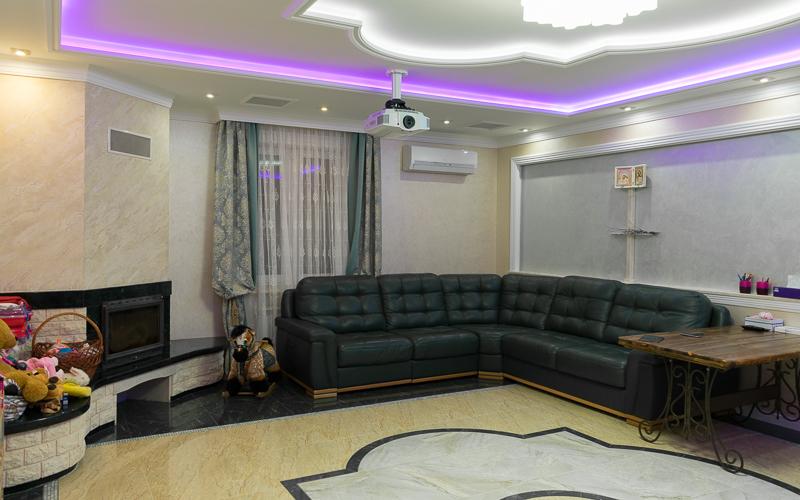 Зрительские места в гостиной