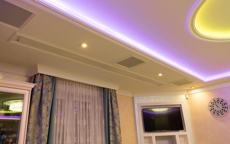 Встроенные в потолок основные акустические системы Sonance R1C