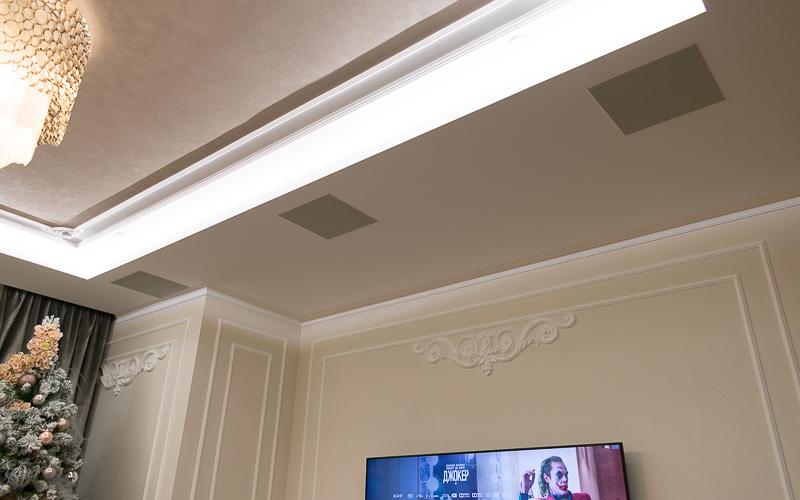 Встроенные в потолок акустические системы Sonance R1C