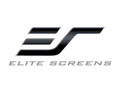 Логотип Elite Screens - экраны для кинозалов