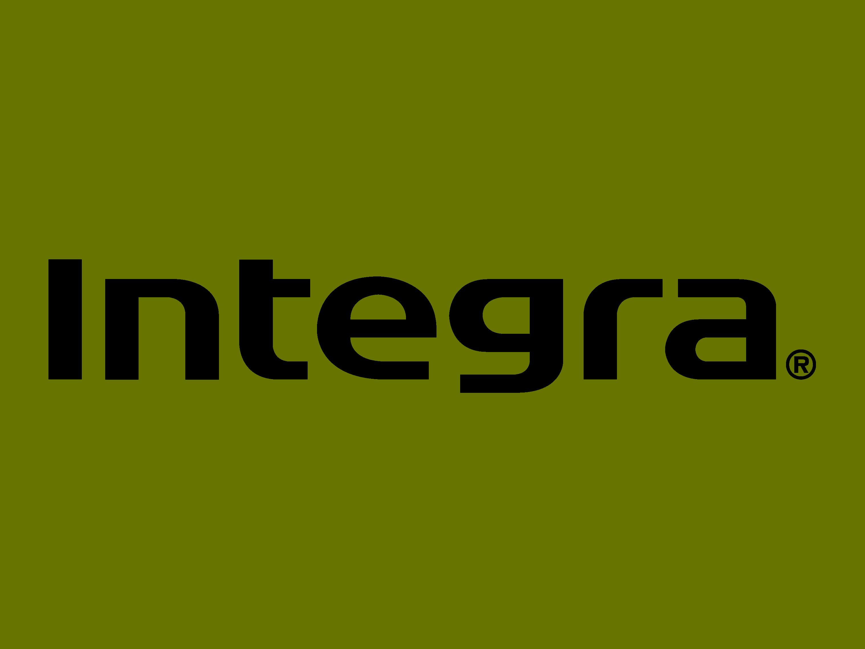 Логотип Integra - АВ-ресиверы для кинозалов