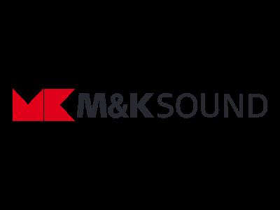 Логотип M&K Sound - кинозальные акустические системы