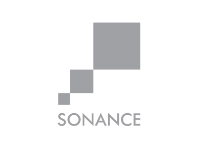 Логотип Sonance - акустические системы для кинотеатров