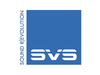 Логотип SVS - американские сабвуферы для домашнего кинотеатра
