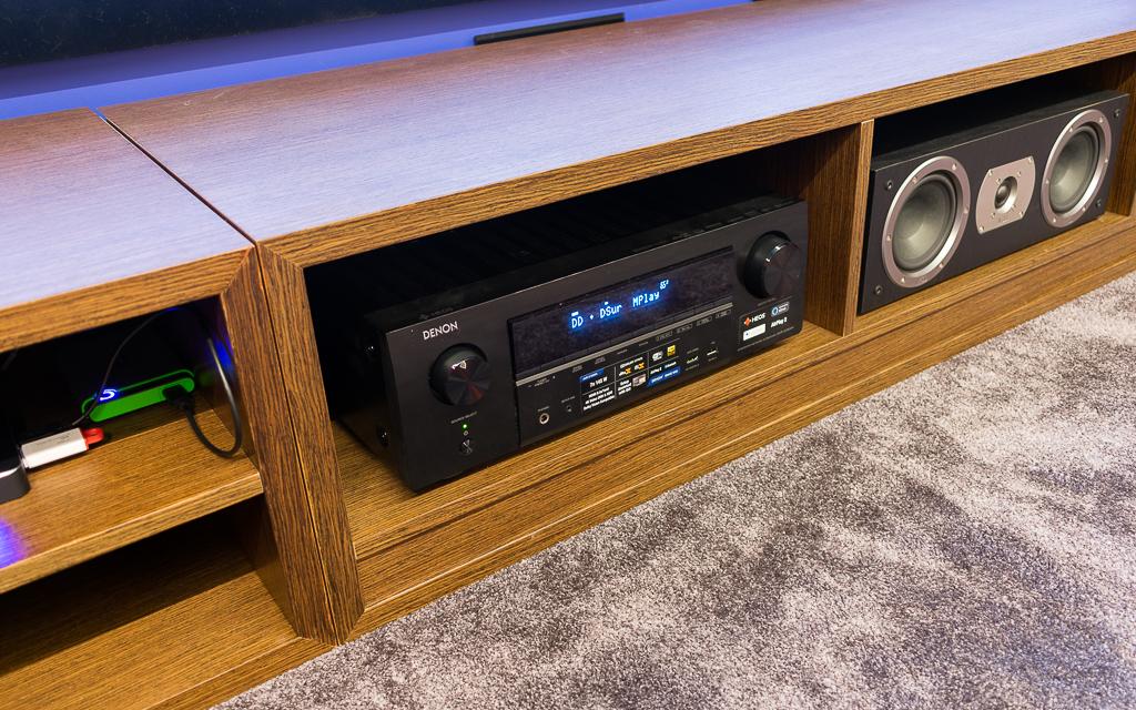 Несмотря на начальное положение в модельном ряду, музыкального потенциала Denon AVR-X1600H более чем достаточно для просмотра фильмов